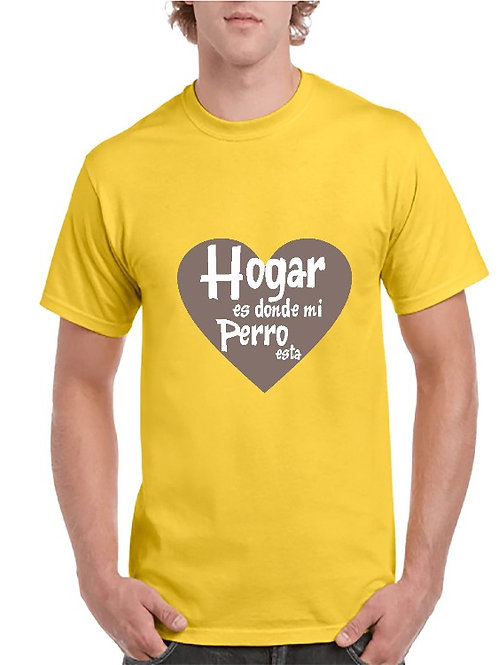 Camiseta Mi hogar