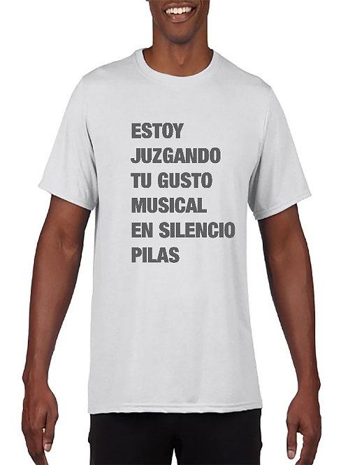 Camiseta Gusto musical