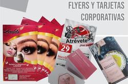 flyers y tarjetas corporativas