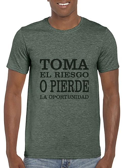 Camiseta Toma el Riesgo