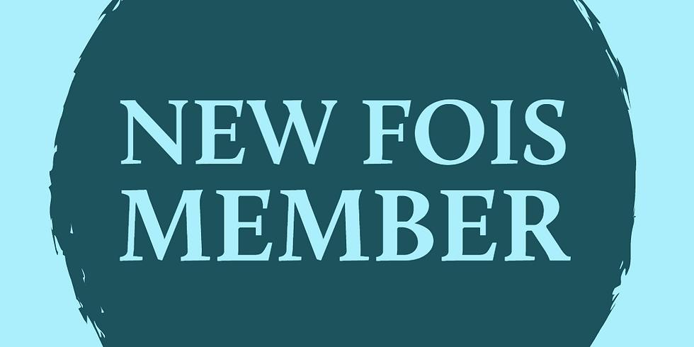 New FOIS Member