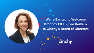 Dropbox CIO Sylvie Veilleux named to Cinchy's board of directors