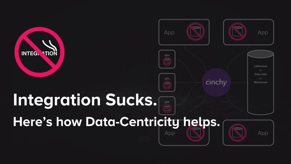 [Read] Integration Sucks. Here's how Data-Centricity helps.