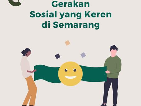 Gerakan Sosial yang Keren di Semarang