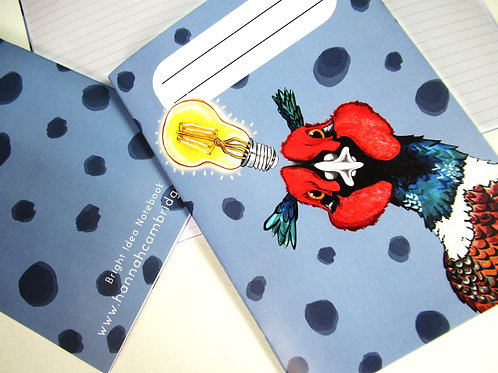 A5 Bright Idea Pheasant Notebook