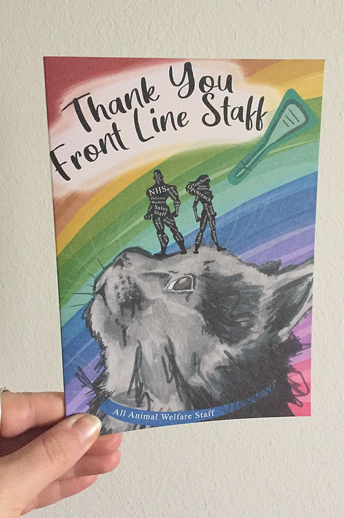 Thank you Front Line Staff
