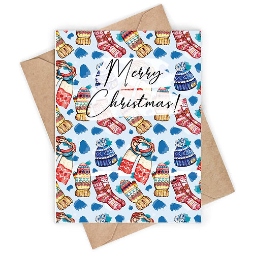 Knitwear Christmas Card - pack of 7