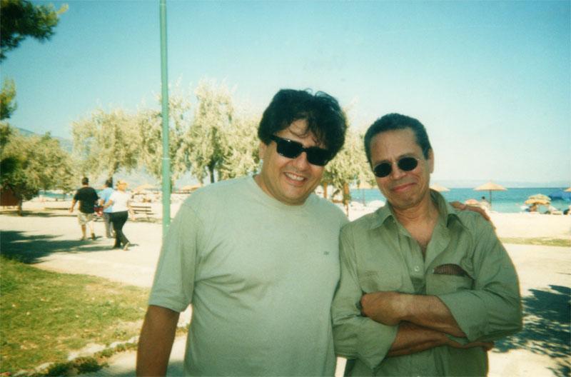 With Leo Brouwer
