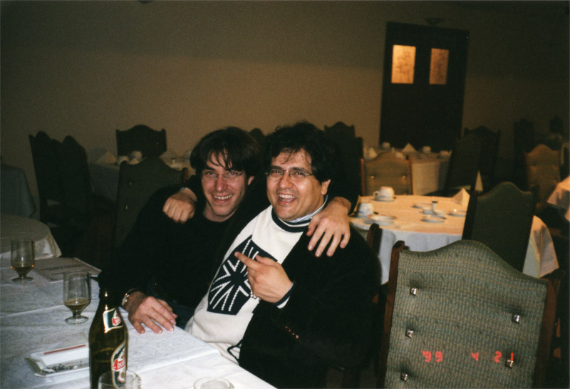 With Joaquin Clerch