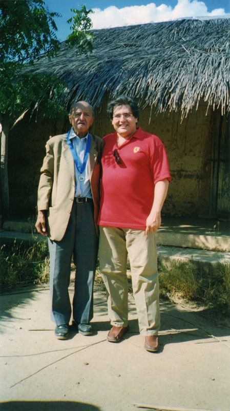 With Alirio Diaz