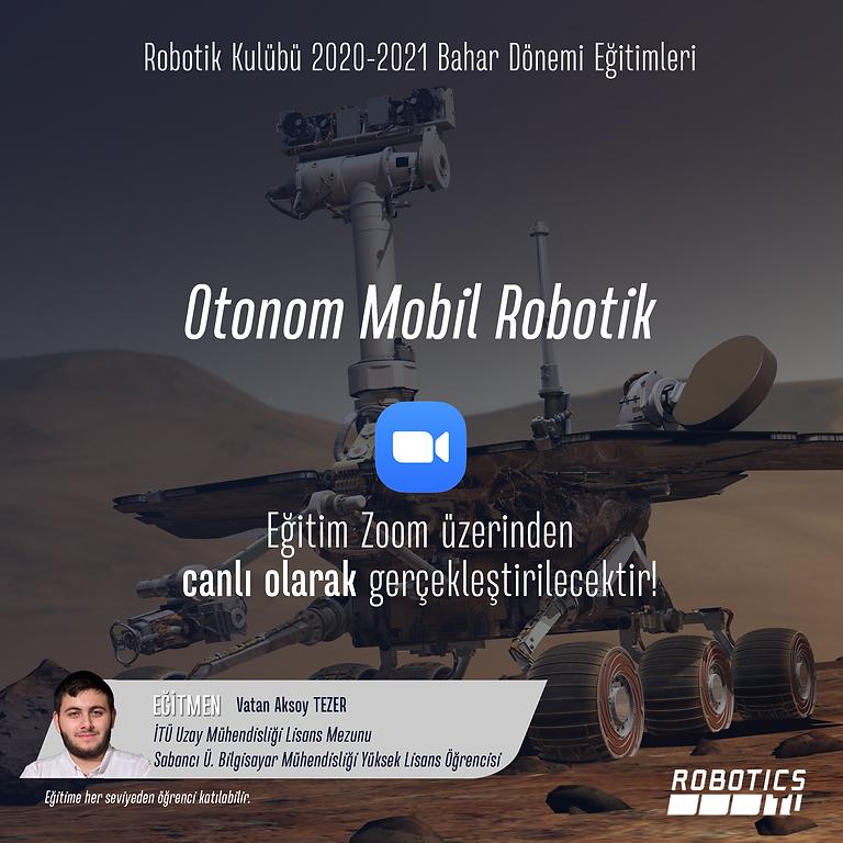 Otonom Mobil Robotlara Giriş