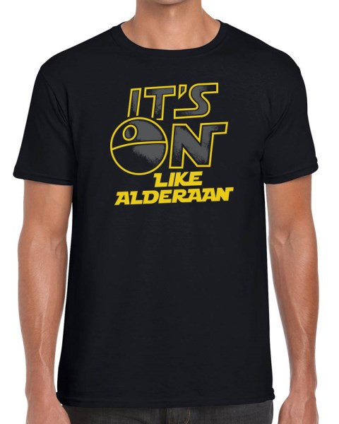 b5dc674e It's On Like Alderaan - Star Wars Parody T-Shirt