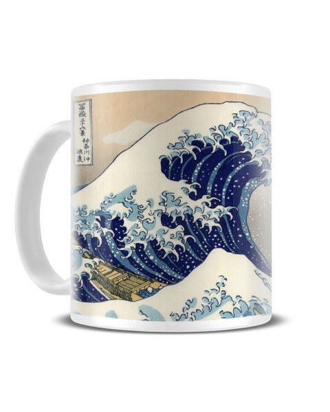 595fa4e81f7a9 The Great Wave Off Kanagawa - Hokusai Classic Japanese Artwork Ceramic Mug