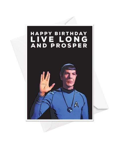 Happy Birthday Live Long And Prosper
