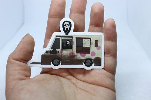 iScream Van Vinyl Sticker