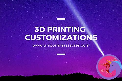 3D Printing on Demand Custom Printing and Painting