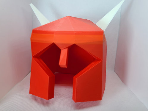 Runescape Dragon Med Helm Printed on Demand