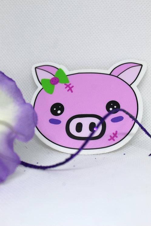 Punk Piggie Sticker