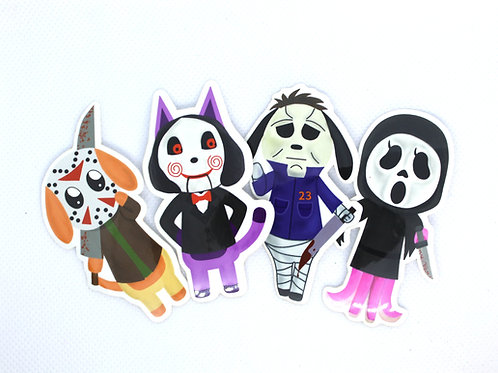 Animal Crossing Villager/Horror Icon Stickers