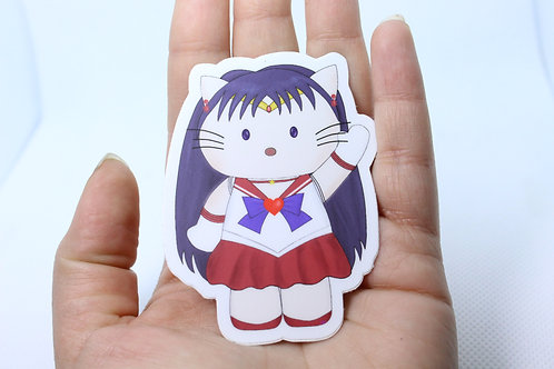 Hello Sailor Mars Vinyl Sticker