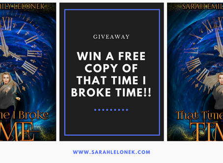 Giveaway! Win a free copy of my novel :)