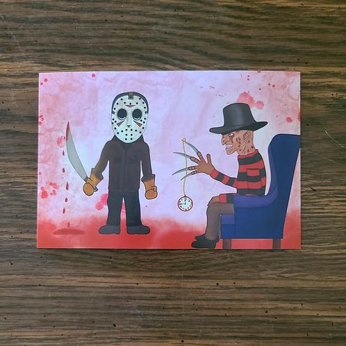 One, Two Freddy's Hypnotizing You Print