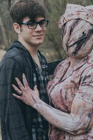 Silent Hill Nurse | Engagement Shoot