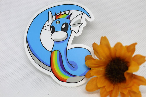 Dratini Pride Pokemon Sticker