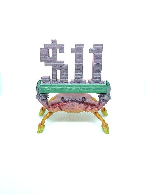 Runescape Meme Crab 11 Dollars - Printed on Demand