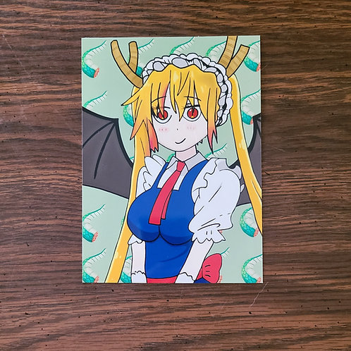 Dragon Maid Tohru Print