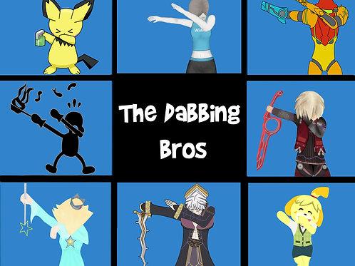 Dabbing Bros Print