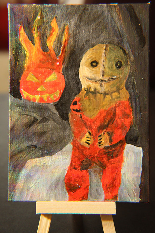 Sam Trick R Treat Traditional Painting