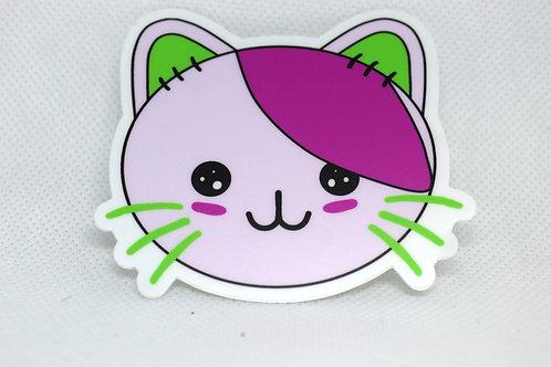 Emo Kitty Sticker