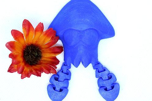 Splatoon 2 Squid Amiibo Figurine Printed on Demand