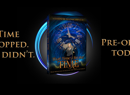 That Time I Broke Time Available for Pre-Order!