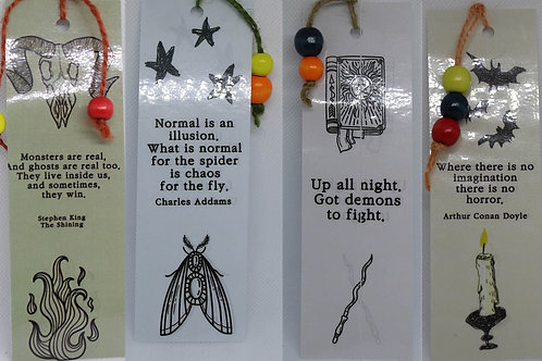 Occult Quote Bookmarks
