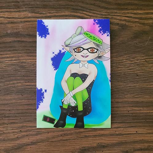 Marie Splatoon 4x6 or 8x10 Print