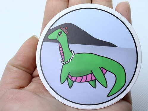 Nessie's Big Day Out Vinyl Sticker