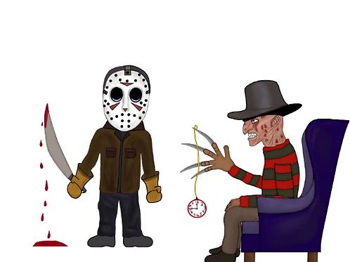 One, Two Freddy's Hypnotizing You Vinyl Sticker