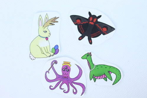 Cryptid Sticker Pack