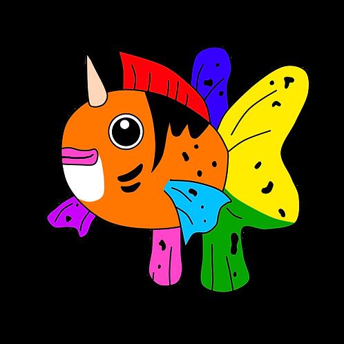 Seaking Pride Pin