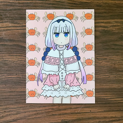 Dragon Maid Kanna Print