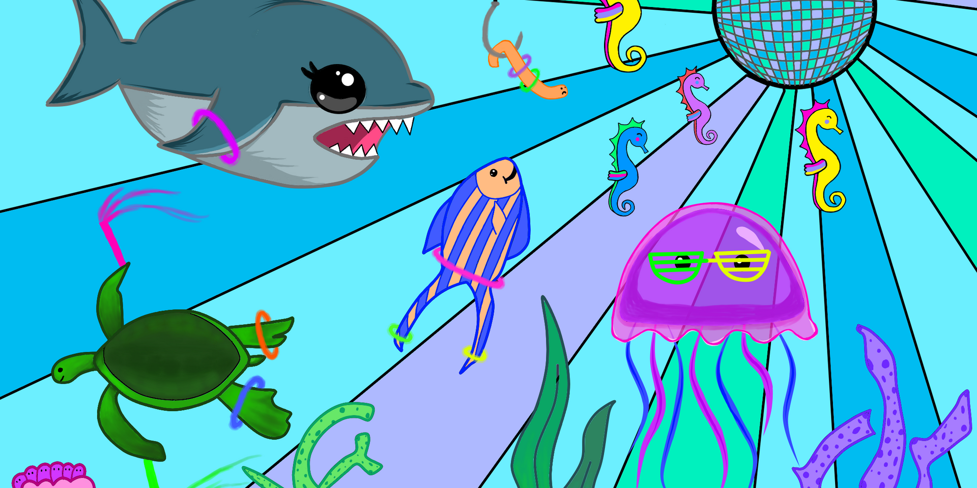 Underwater Rave Time