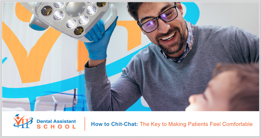 4a1c9113e How to Chit-Chat  The Key to Making Patients Feel Comfortable. Being afraid  of the dentist ...