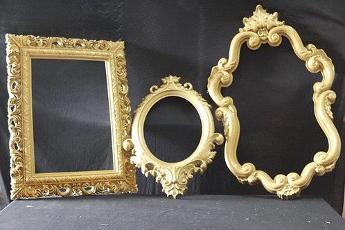 Gold Frames (for big display)