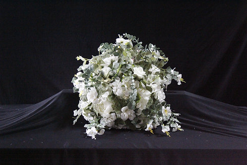 Big White Flower