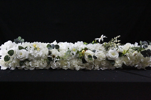Flower Row (White)