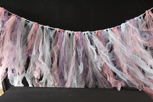 Mesh Cloth Streamers (for tables)