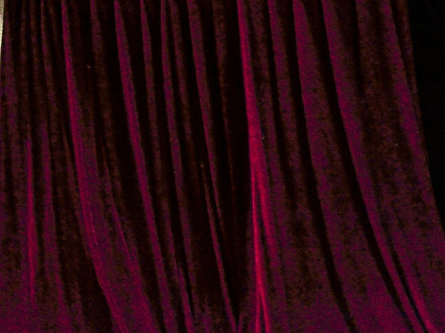 Red Cloth Curtains