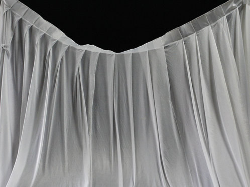 White Cloth Curtain